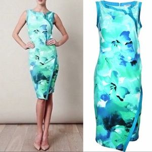 MaxMara Ocean Watercolor Dress